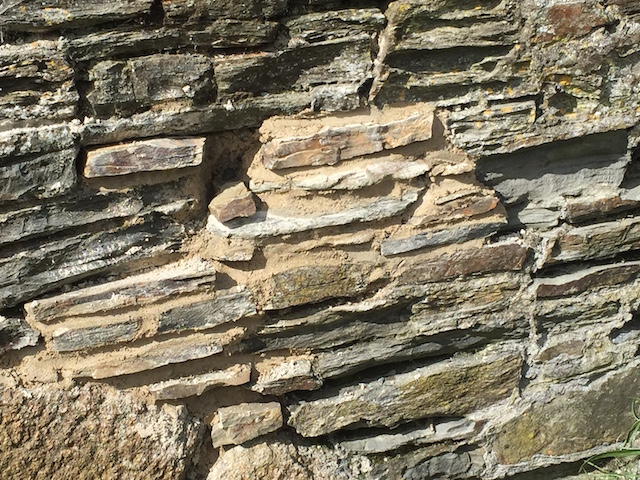 Oakridge Natural Build Lime pointing the This is Hayle Bridge West Cornwall