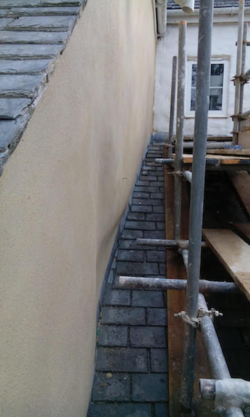 west country lime rendering