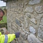 Lime Pointing In Helston Cornwall